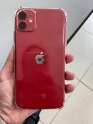 iPhone 11 64GB Red / Troco por XR ou XS + volta em $$$
