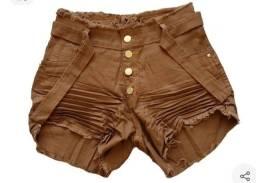 vendo um shorts jeans lindo no tamanho 46 novo no valor de 50 reais