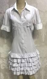 Vestido Dress babados, lindo, tamanho 38