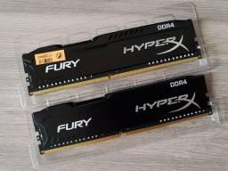 Memórias DDR4 HyperX