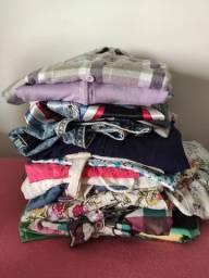 Vende-se lote de roupas