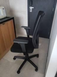 Cadeira profissional presidente ergonômica plaxmetal