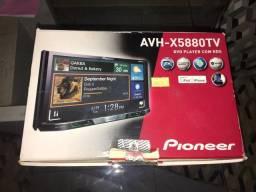 2-Din Pionner modelo AVH-X5880TV