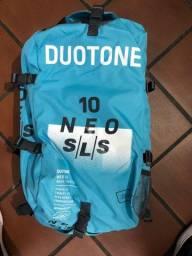 Duotone Dtk Kite Surf Neo Sls 2021 10m + Click Bar Quad Control 2021