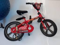 Bicicleta até 5 anos relâmpago mcqueen