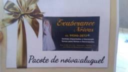Aluguel Pacote de noiva R$ 1200