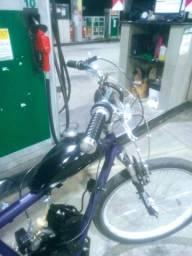 Bike motorizada troco em 50 tinha