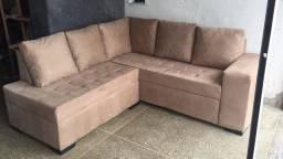 Sofá novo, lacrado, nunca usado