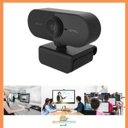 Webcam USB Full Hd 1080p Câmera De Computador Plug And Play