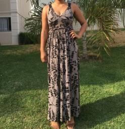 Vestido longo feminino