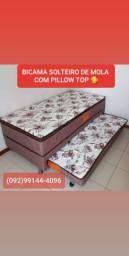 BICAMA SOLTEIRO DE MOLAS ENTREGA GRÁTIS