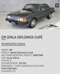 Opala diplomata 250.s coupé completo