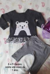 roupas 1 ano