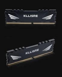 Memória Gamer Kllisre - DDR4 8GB 2666 Mhz - Intel / Amd com Dissipador