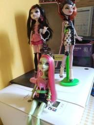 Bonecas Monster High originais seminovas