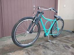 Bicicleta Monark Barra circular rebaixada
