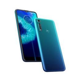 Motorola Moto G8 Power Lite 64gb Azul Navy Lacrado Nota Fiscal