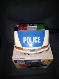 Brinquedo Police Driving da Milmar anos 80