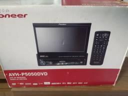 Dvd Pioneer AVH-P5050DVD com USB auxiliar semi novo com garantia instalado em seu carro
