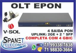 Olt Epon V-Solution V1600D4-L em Salvador Ba