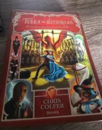 Livro terra de histórias
