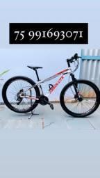Bicicleta K7 ARO 29 Freio Hidráulico quadro de aluminio NOVA