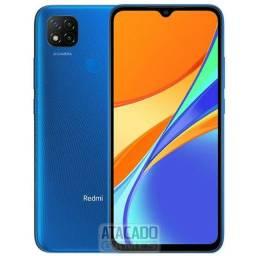 Xiaomi Redmi 9c 64gb azul novo caixa lacrada aceito cartão/celular como pagto