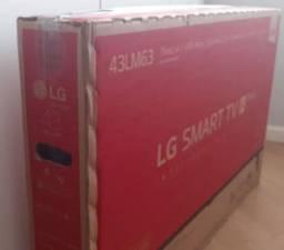 """TV 43"""" LG na CAIXA"""
