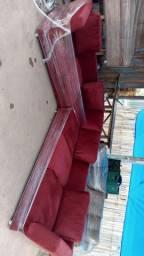 Vendo esse sofa L 6 lugares novo