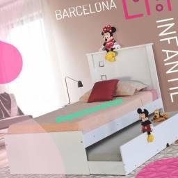 Bicama Barcelona (Nova) #Entrega E Montagem Grátis