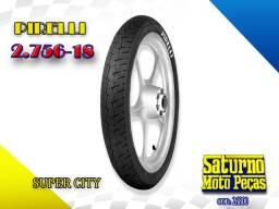 Pneu Pirelli 90/990-18 S/ Camara Super City