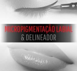 CURSO MICROPIGMENTAÇÃO LABIAL & DELINEADOR