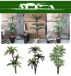 Plantas artificiais de 1,60m para sua loja, apartamento ou escritório