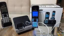 OPORTUNIDADE!!! Telefone s/fio Panasonic 6.0 Digital