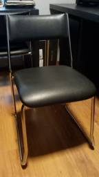 4 Cadeiras de escritório super novas
