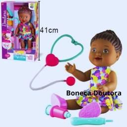 Boneca Doutora My Little Collectino Doutora Negra - Diver Toys