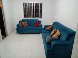 Sofá Azul 2 e 3 Lugares