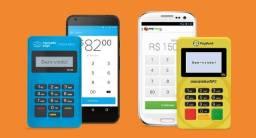 Maquininha De Cartão De Crédito Mercado Pago ou PagSeguro