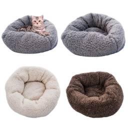 Almofada / Cama Macia de pelúcia para Cachorro e Gato