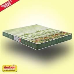 Título do anúncio: Colchão Casal Anjos Pantanal Verde Florado 17x188x138cm