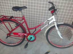 Bicicleta feminina.toda aério rolamento