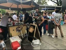 Foodbike e carrinho de sorvete, vendo ou troco por fusca em boas condições