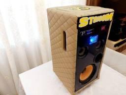 Caixa de Som Portátil com Bateria Interna e Bluetooth