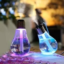Umidificador Difusor de ar Lâmpada luminária purificador