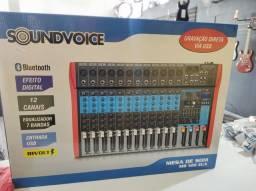 Mesa 12 canais soundvoice