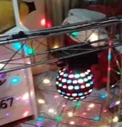 Kit iluminação completa Dj Grid truss
