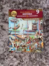 história, sociedade e cidadania - Caderno de Atividades 9 ano