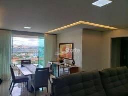 Apartamento com 3 dormitórios à venda, 114 m² por R$ 580.000 - Carajás - Uberlândia/MG