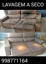 Limpeza e impermeabilização sofá, colchão