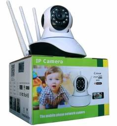Camera Monitoramento Via Wifi Com Controle Pelo Celular Com Audio